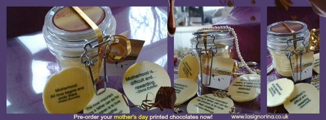 La Signorina Mother's Day chocolates