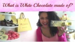 What is White Chocolate made of ?