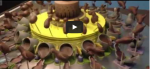 Chocolate Zoetrope: Spinning Chocolate Sculpture